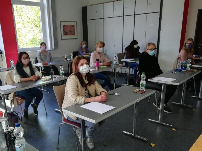 Der Schulbetrieb in der Pflegeschule Braunschweig geht weiter